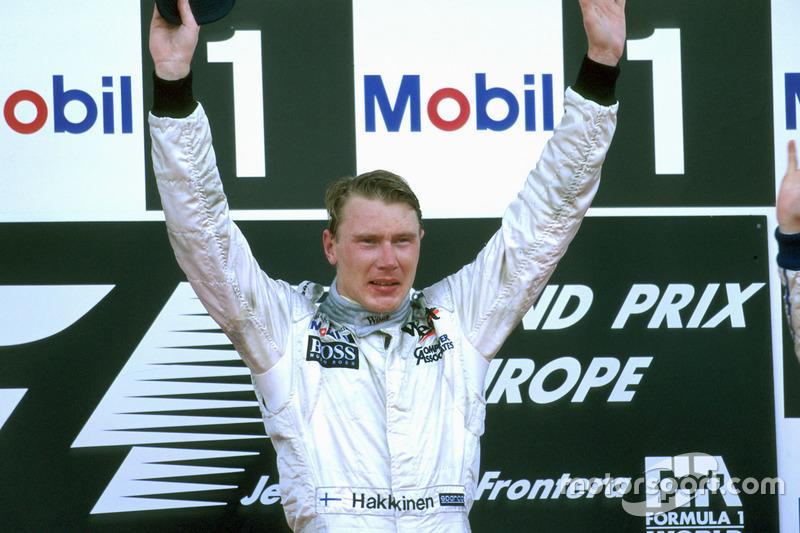 1. Mika Häkkinen, McLaren