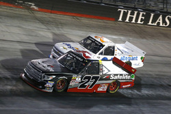 Ben Rhodes, ThorSport Racing Toyota and Johnny Sauter, GMS Racing Chevrolet