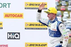 Podium: second place Ashley Sutton, Team BMR Subaru Levorg