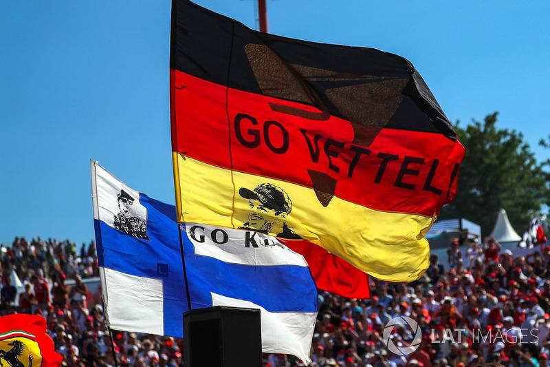 Bandera de Sebastian Vettel, Ferrari