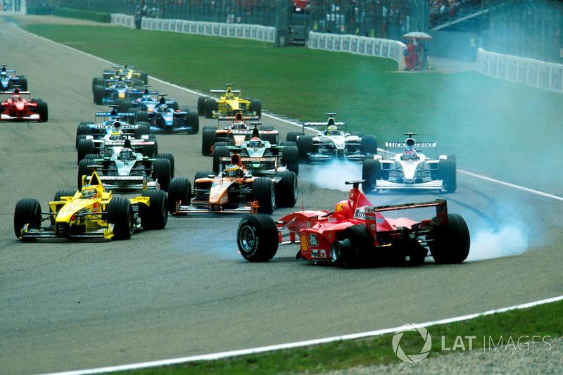 Accidente de Michael Schumacher en el GP de Alemania