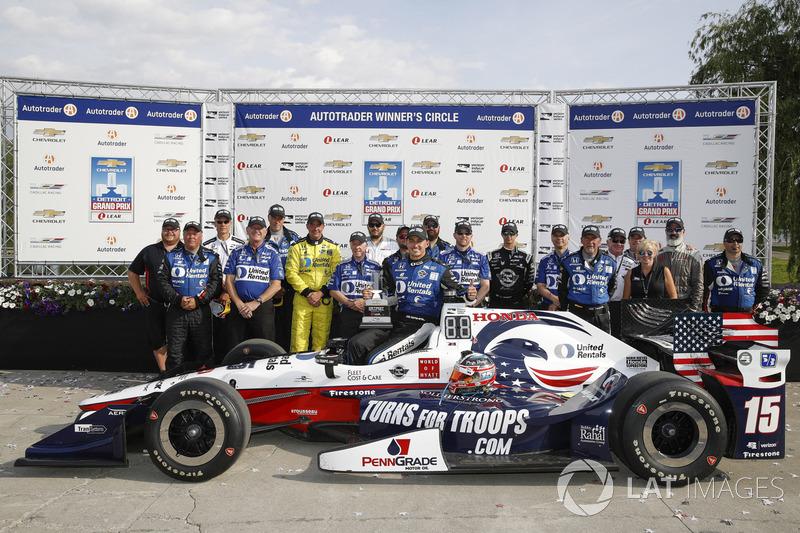 1. Graham Rahal, Rahal Letterman Lanigan Racing, Honda