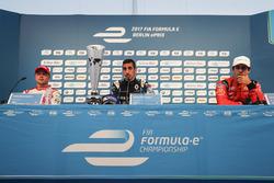 Felix Rosenqvist, Mahindra Racing, Sébastien Buemi, Renault e.Dams, Lucas di Grassi, ABT Schaeffler Audi Sport