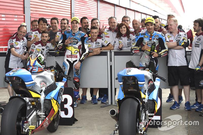 Alex Marquez, Marc VDS; Franco Morbidelli, Marc VDS