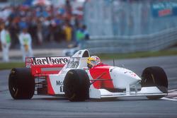 Mark Blundell, McLaren MP4/10B