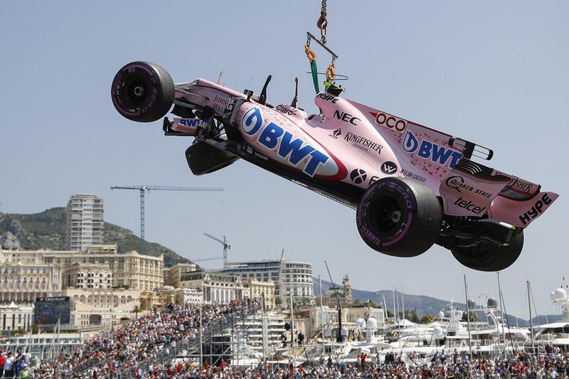 13 місце — Естебан Окон, Force India. Умовний бал — 7,759