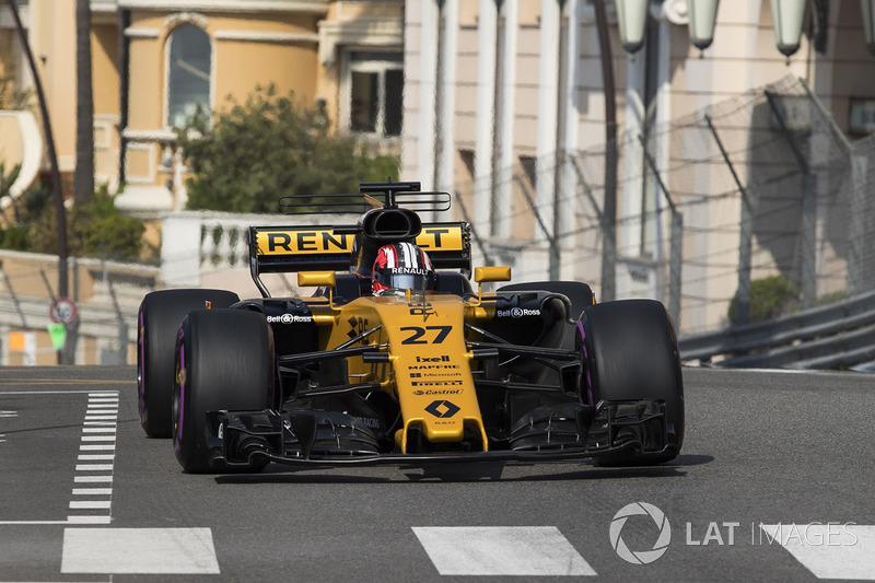 10: Нико Хюлькенберг, Renault Sport F1 RS17