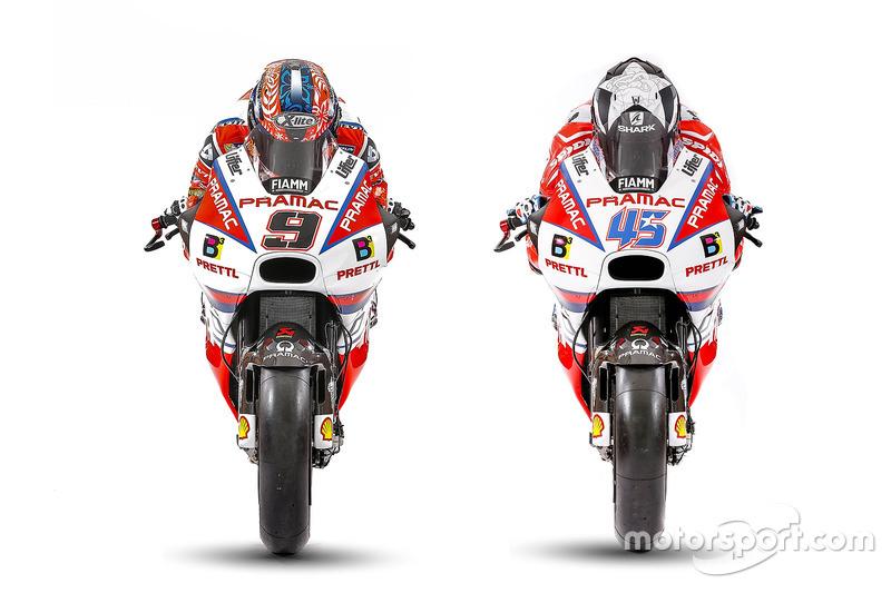 Ducati Desmosedici GP17 dan GP16
