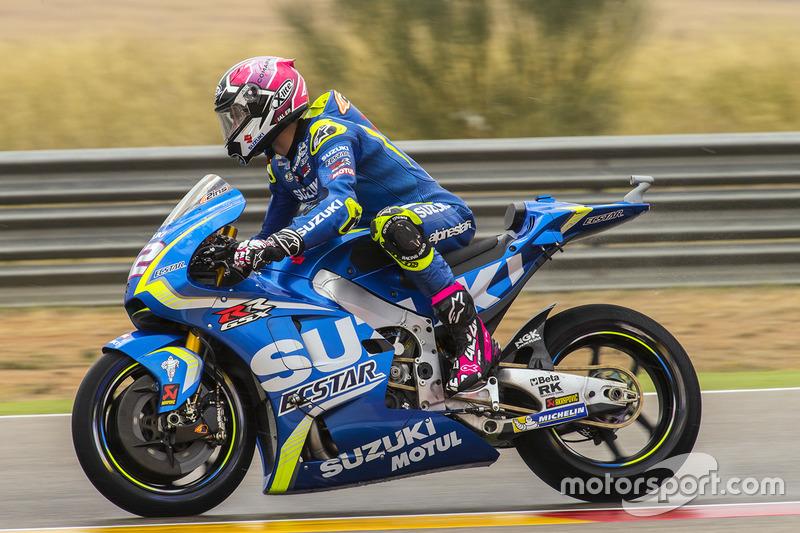 20. Alex Rins, Team Suzuki MotoGP