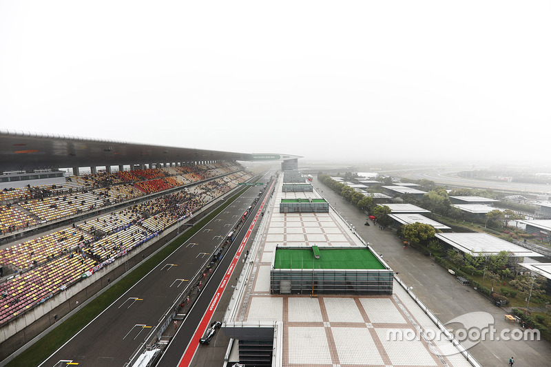 A scenic view of Shanghai International