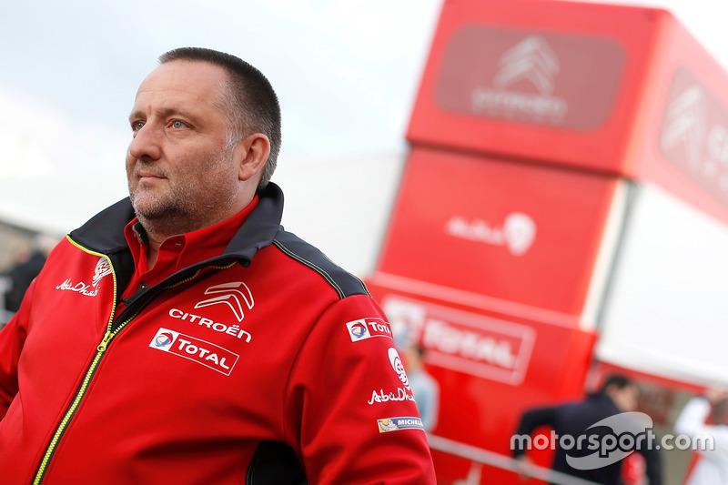 Yves Matton, Citroën Motorsport Director