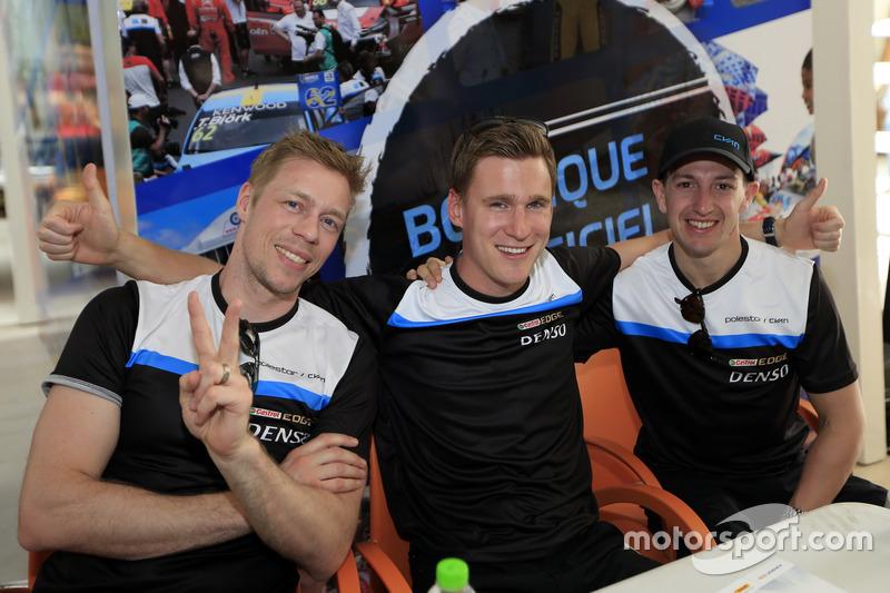 Thed Björk, Nicky Catsburg, Nestor Girolami, Polestar Cyan Racing, Volvo S60 Polestar TC1