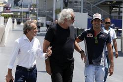 Alain Prost, Renault-Berater, Flavio Briatore, Carlos Sainz Jr., Scuderia Toro Rosso