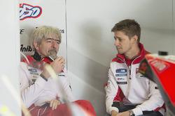 Casey Stoner, Ducati Team con Gigi Dall'Igna, Ducati Corse General Manager