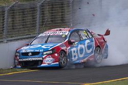Аварія Джейсона Брайта, Brad Jones Racing Holden