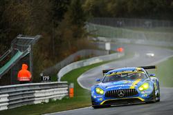 #9 AMG–Team Black Falcon Mercedes AMG GT3: Hubert Haupt, Yelmer Buurman, Nico Bastian