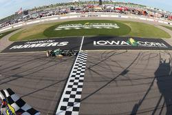 Sieg für Josef Newgarden, Ed Carpenter Racing, Chevrolet