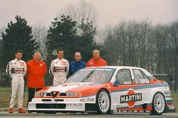 Presentation Alfa Corse Martini Racing with Nicola Larini and Alessandro Nannini