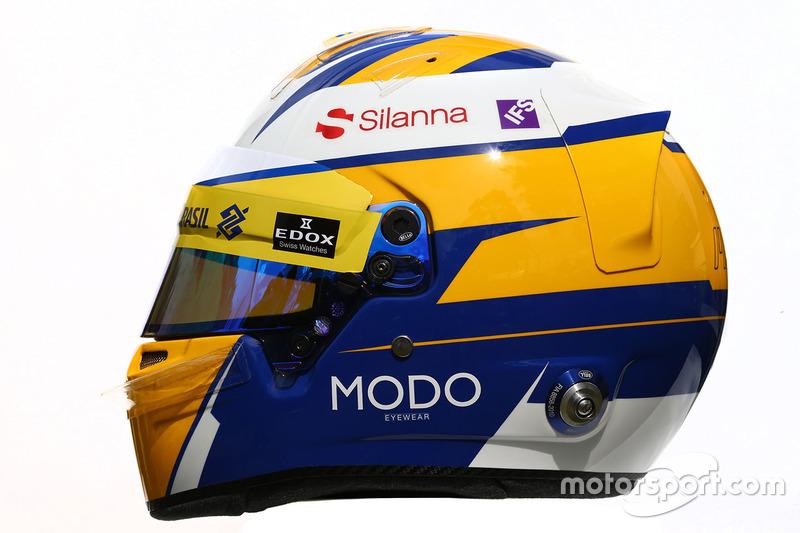 Helm von Marcus Ericsson, Sauber F1 Team