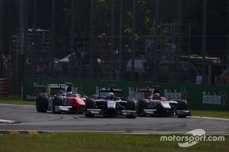 Raffaele Marciello, RUSSIAN TIME precede Nobuharu Matsushita, ART Grand Prix e Oliver Rowland, MP Motorsport
