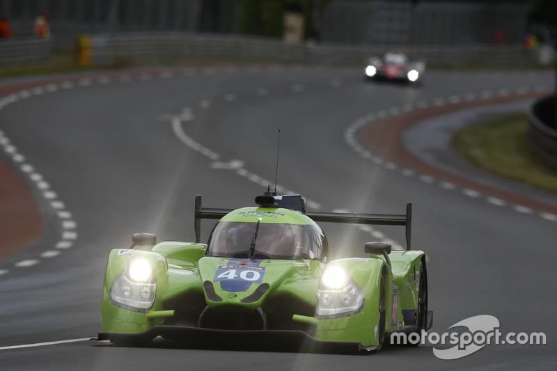 59: Ligier JS P2 Nissan команды Krohn Racing (№40): Трейси Крон, Ник Йонссон, Жуан Барбоза