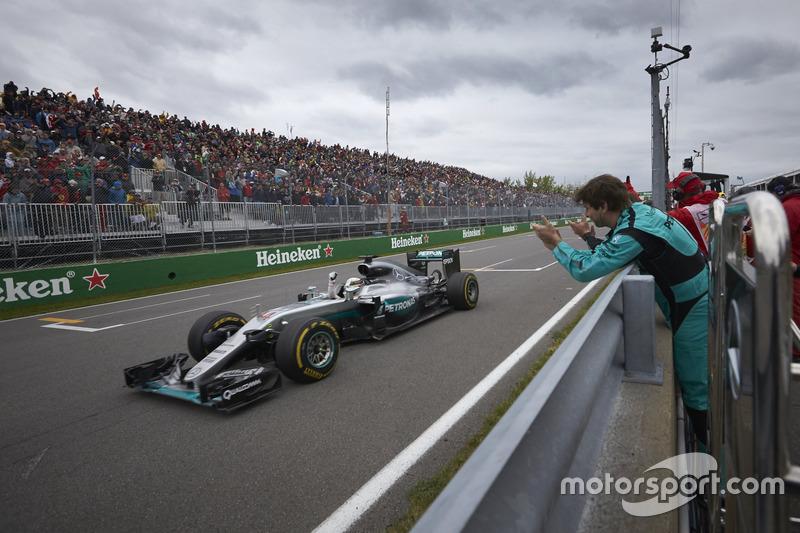 45- Gran Premio de Canadá 2016, Mercedes