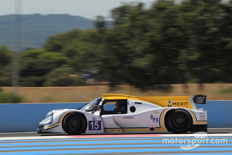 #15 RLR Msport Ligier JSP3 - Nissan: Marten Dons, Anthony Wells, Ross Warburton