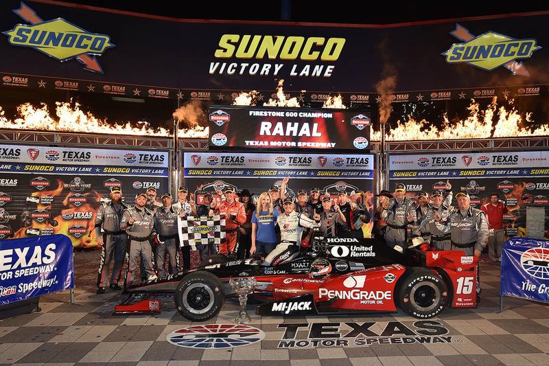 Il vincitore della gara Graham Rahal, Rahal Letterman Lanigan Racing Honda