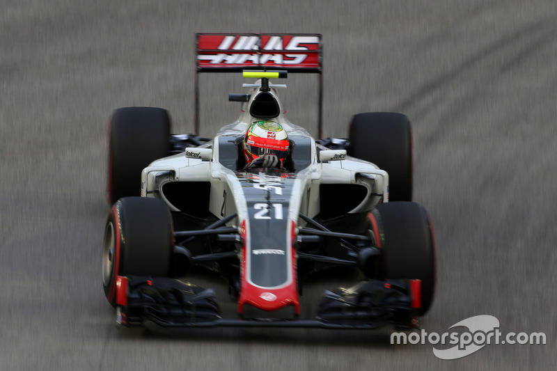 Esteban Gutierrez, Haas F1 Team VF-16