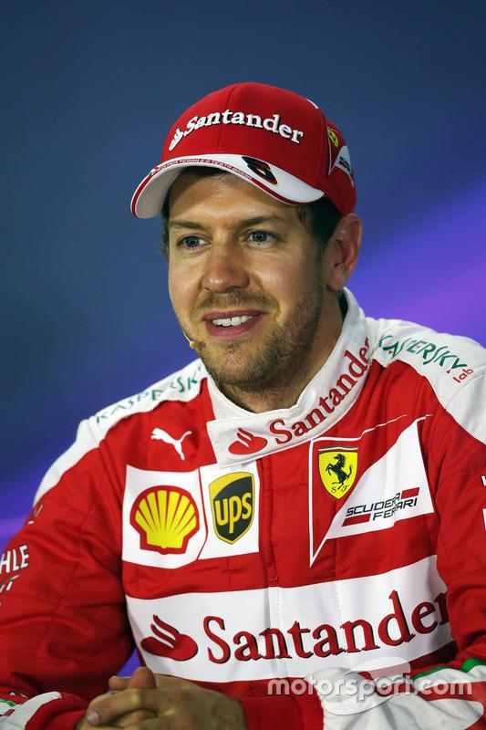 Persconferentie: Sebastian Vettel, Ferrari