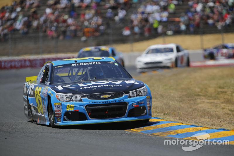 Michael McDowell, Circle Sport Leavine Family Racing Chevrolet