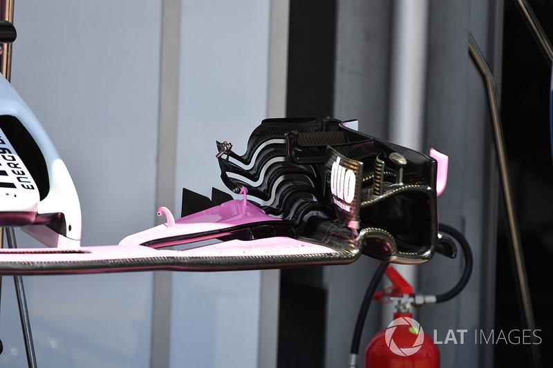Force India VJM11 ön kanat detay