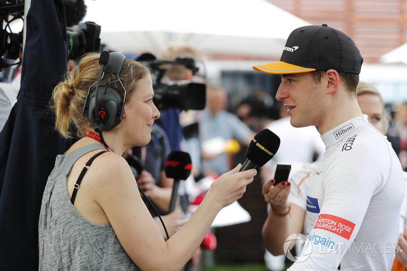 Stoffel Vandoorne, McLaren, medya ile