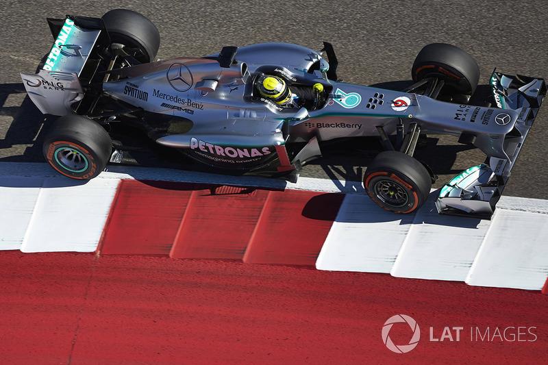 2013: Mercedes F1 W04