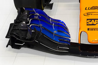 McLaren MCL33 front wing detail