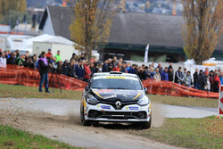 Martial Praz, Samantha Rossier, Renault Clio R3T, Atelier de la Tzoumaz, SP4 Sion Casernes