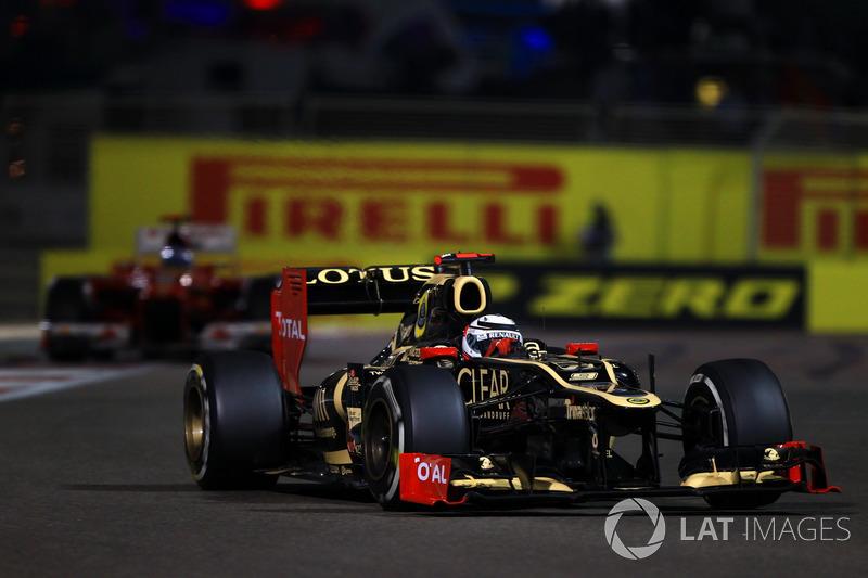 2012: Кими Райкконен, Lotus E20