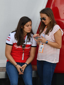 Paula and Tatiana Calderon, Sauber Test Driver
