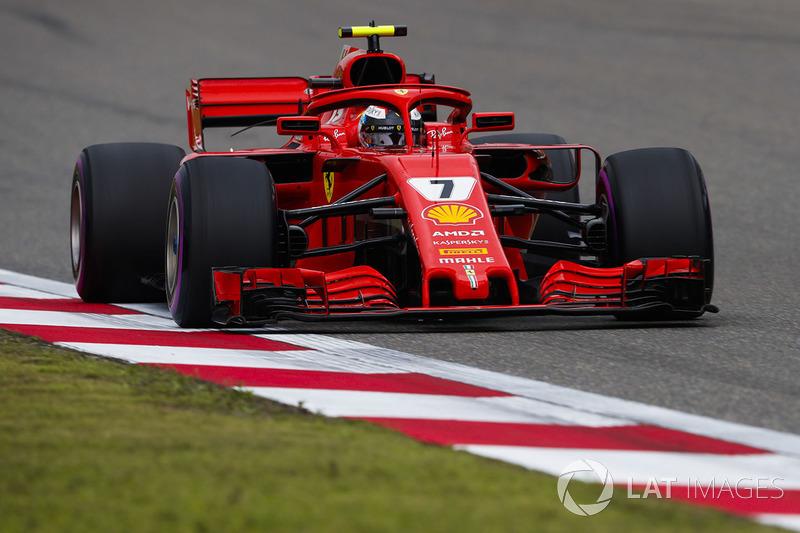 2: Kimi Raikkonen, Ferrari SF71H, 1'31.182