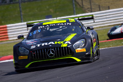 #42 Strakka Racing Mercedes-AMG GT3: Nick Leventis, Chris Buncombe, Lewis Williamson