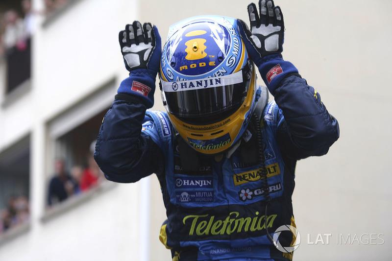 6º Fernando Alonso (32 victorias)