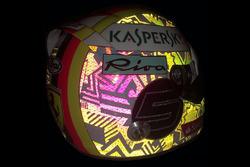 Helmet of Sebastian Vettel