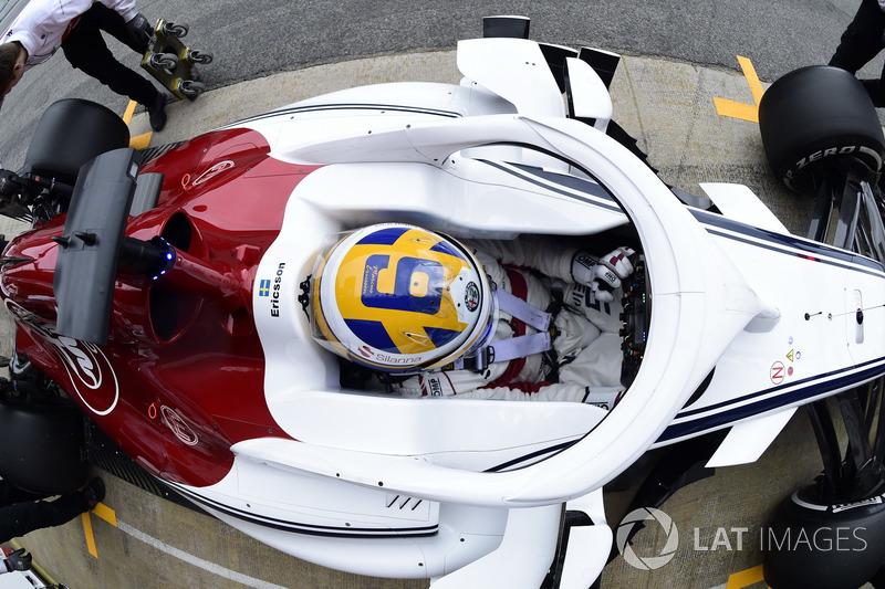 8. Marcus Ericsson, Alfa Romeo Sauber C37