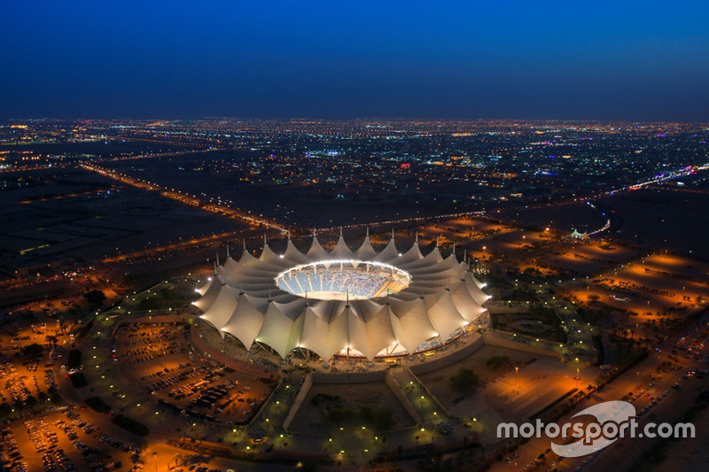 King Fahd International Stadium in Riyadh, Saudi Arabia