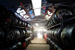 Atmosphäre in der Holden Racing Team Box