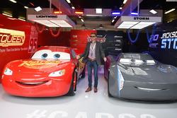Fan nel garage di Cars 3