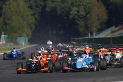 Peloton de Formule Renault
