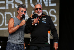 Eddie Jordan, Robert Fernley, Sahara Force India F1 Deputy Team Principal