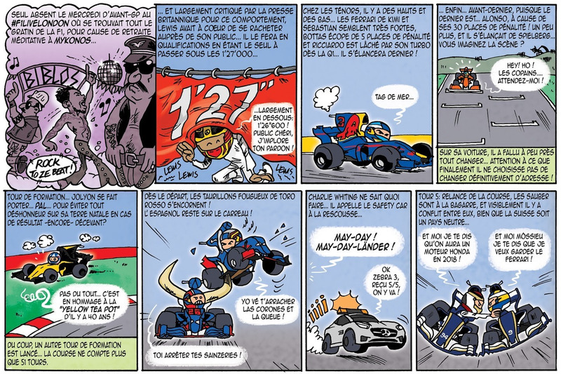 Le GP de Cirebox - Grande-Bretagne 2