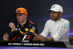 Press Conference: Max Verstappen, Red Bull Racing and Lewis Hamilton, Mercedes AMG F1